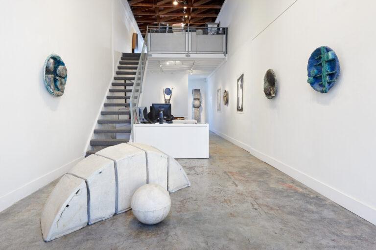 Gallery installation view of Dennis Gallagher