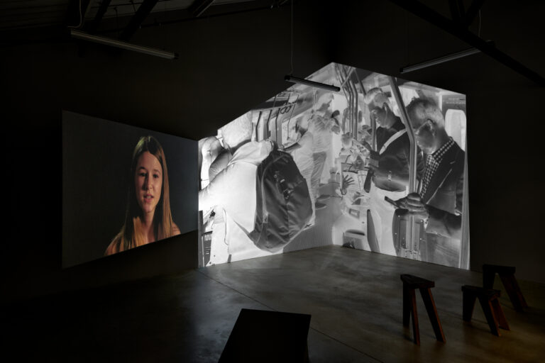 Video installation of Doug Hall's Song of Ourselves