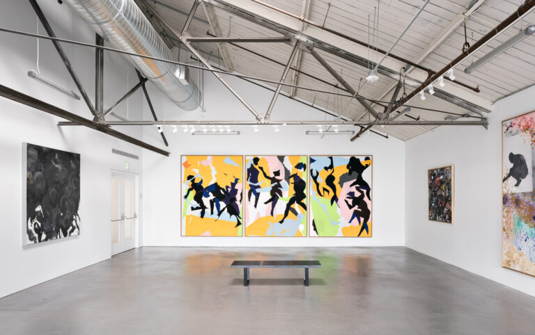 Gallery installation view of Oliver Lee Jackson
