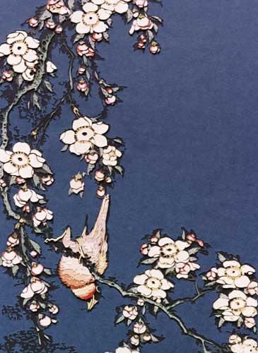 Bullfinch and Weeping Cherry by Vik Muniz