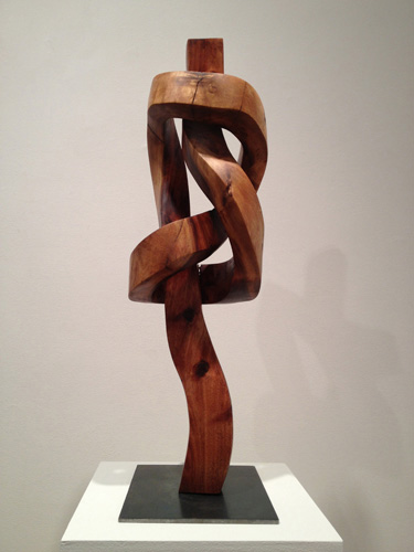 Wood sculpture by Sam Perry