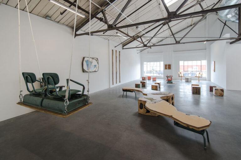 Gallery installation view of John Preus