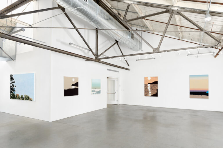 Installation view in the gallery