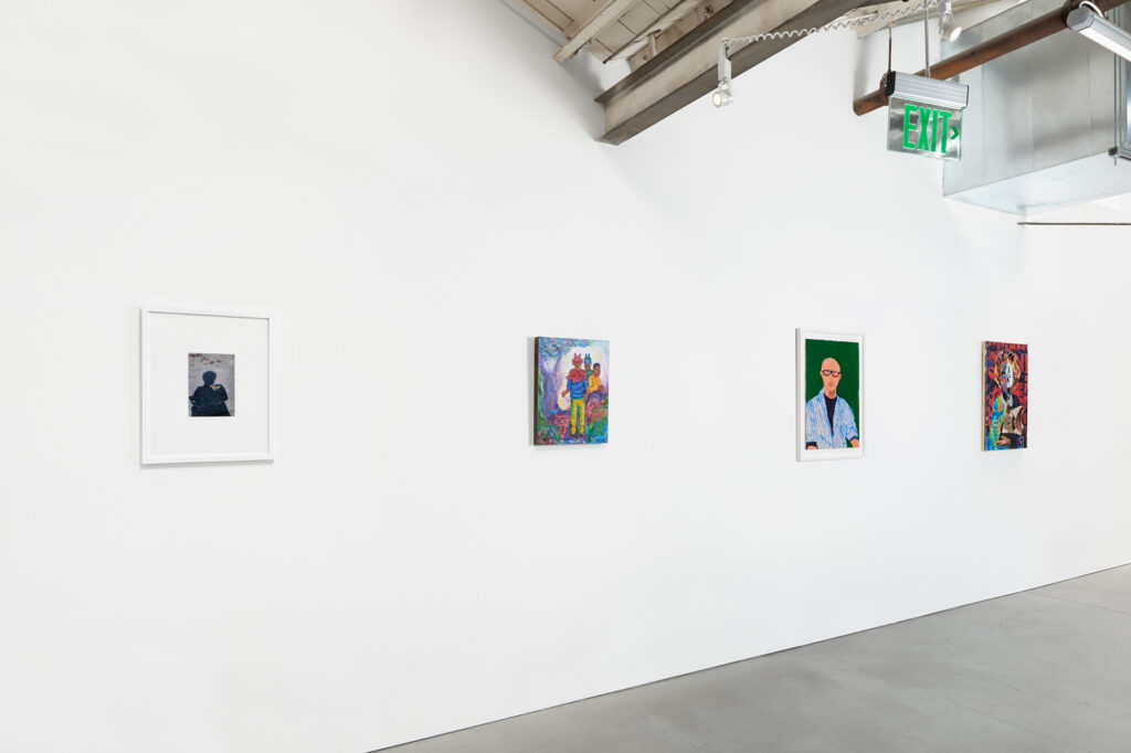 Installation view in gallery